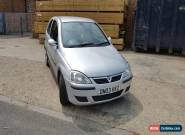 2003 VAUXHALL CORSA SRI 16V SILVER for Sale