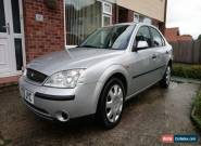 2001 (Y) FORD MONDEO 2.0 LX TDDI (No Reserve) for Sale