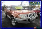 Classic 2005 Nissan Navara D22 ST-R (4x4) Orange Manual 5sp M Dual Cab Pick-up for Sale