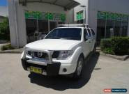 2007 Nissan Navara D40 ST-X Grey Automatic 5sp A Dual Cab Pick-up for Sale