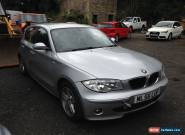 2006 BMW 116 I SPORT SILVER NON RUNNER SPARES OR REPAIR for Sale