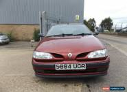 1998 RENAULT MEGANE RT 1.6 AUTO RED SPARE OR REPAIR MOT FALIURE for Sale