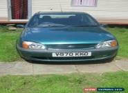 2000 FORD FIESTA ZETEC GREEN spares or repair for Sale