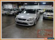 2010 Ford Falcon FG XR6 Silver Automatic 5sp A Sedan for Sale