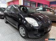 2006 Toyota Yaris NCP90R YR Black Automatic 4sp A Hatchback for Sale