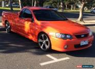 2003 Ford XR6 Turbo Ute 6 Speed Manual  for Sale