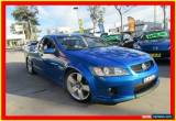 Classic 2009 Holden Ute VE MY09.5 SS V Blue Manual 6sp M Utility for Sale