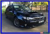 Classic 2009 Subaru Impreza MY10 WRX (AWD) Black Manual 5sp M Hatchback for Sale
