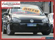 2012 Volkswagen Golf 1K MY13 77 TSI Black Automatic 7sp A Hatchback for Sale
