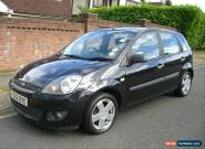 2006 ( 06 REG ) FORD FIESTA ZETEC 1.4 CLIMATE TDCI BLACK for Sale