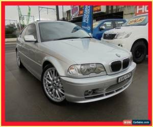 Classic 2002 BMW 330CI E46 MY2002 Silver Automatic 5sp A Coupe for Sale