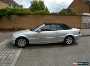 2001/51 BMW 325CI AUTO 2DR CABRIOLET SILVER LEATHER AC ALLOYS PSH for Sale