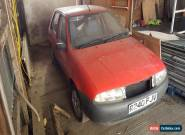 1998 FORD FIESTA ENCORE RED SPARES OR REPAIR for Sale