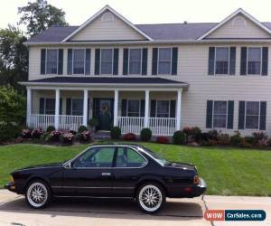 Classic 1984 BMW 6-Series for Sale