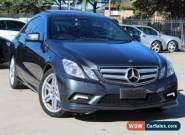 2011 Mercedes-Benz E500 212 Avantgarde Tenorite Grey Automatic 7sp A Sedan for Sale