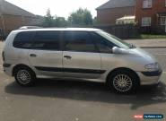 2000 RENAULT ESPACE AUTHENTIQUE AUTO SILVER (Spares or Repairs) for Sale