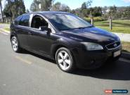 2009 FORD FOCUS CDI TURBO DIESEL  6 SPEED MANUAL BLACK GREAT ECONOMY NICE CAR  for Sale