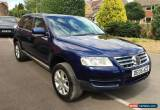 Classic 2005 VOLKSWAGEN TOUAREG 2.5 TDI SPORT AUTO BLUE LONG MOT  for Sale