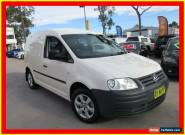 2005 Volkswagen Caddy 2KN White Manual 5sp M Van for Sale