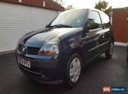 2002 (52) RENAULT CLIO 1.2 AUTHENTIQUE BLUE for Sale