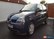 2002 (52) RENAULT CLIO 1.2 AUTHENTIQUE BLUE for Sale
