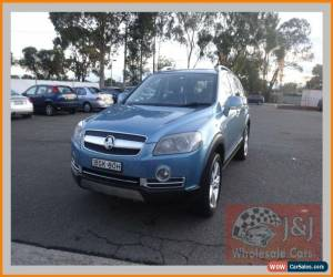 Classic 2008 Holden Captiva CG MY08 LX 60th Anniversary (4x4) Blue Automatic 5sp A for Sale