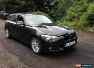2012 BMW 116D SE BLACK NON RUNNER SPARES OR REPAIR for Sale