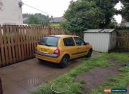 2002 RENAULT CLIO EXPRESSION 16V QS5 YELLOW for Sale