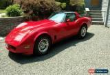 Classic 1980 Chevrolet Corvette for Sale