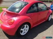 2000 VW BEETLE 2.0 8v Pearlescent Pink  for Sale