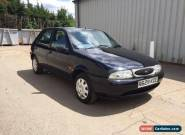 1998 FORD FIESTA GHIA AUTO BLACK low milage  for Sale