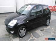 2006 FORD FIESTA ZETEC TDCI BLACK diesel cheap to run nice little car full mot for Sale