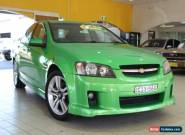 2007 Holden Commodore VE SS Green Manual 6sp M Sedan for Sale