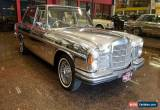 Classic 1971 Mercedes-Benz 300 SEL 3.5 Electric Silver Automatic 3sp A Sedan for Sale