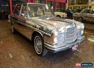 1971 Mercedes-Benz 300 SEL 3.5 Electric Silver Automatic 3sp A Sedan for Sale