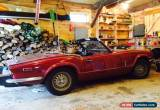 Classic 1979 Triumph Spitfire 1500 roadster for Sale