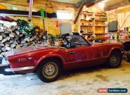 1979 Triumph Spitfire 1500 roadster for Sale