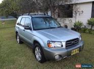Subaru Forester XS (2004) 4D Wagon Automatic (2.5L - Multi Point F/INJ) 5 Seats for Sale