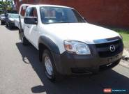 2007 Mazda BT-50 B3000 DX (4x4) White Manual 5sp M Cab Chassis for Sale