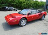 Ferrari: Mondial tan leather for Sale