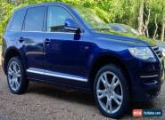2008 VOLKSWAGEN TOUAREG ALT V10 313 A BLUE for Sale