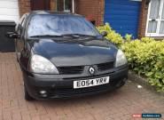 Renault Clio Dynamique 16V Mk2 1.1 Hatchback Black Spares Or Repairs Low Miles for Sale