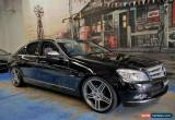 Classic 2007 Mercedes-Benz C200 Kompressor W204 Avantgarde Black Automatic 5sp A Sedan for Sale
