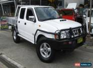 2011 Nissan Navara D22 Series 5 ST-R (4x4) White Manual 5sp M Dual Cab Pick-up for Sale