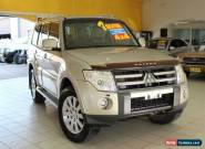2007 Mitsubishi Pajero NS Exceed Champagne Automatic 5sp A Wagon for Sale