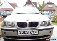 2003 BMW 316 I SE SILVER for Sale