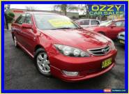 2004 Toyota Camry MCV36R Upgrade Azura Red Automatic 4sp A Sedan for Sale