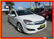 2008 Holden Astra AH MY08 SRi White Manual 6sp M Coupe for Sale