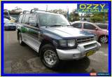 Classic 1999 Mitsubishi Pajero NL Exceed GLS LWB (4x4) Silver Manual 5sp M Wagon for Sale