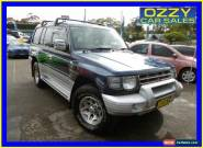 1999 Mitsubishi Pajero NL Exceed GLS LWB (4x4) Silver Manual 5sp M Wagon for Sale